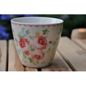 greengate simone white latte cup