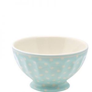 greengate spot pale french bowl