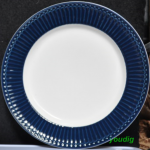 ALICE DARK BLUE ASSIETTE