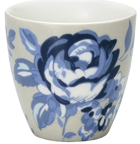 amanda dark blue latte cup greengate