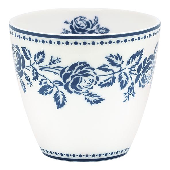 FLEUR BLUE LATTE CUP