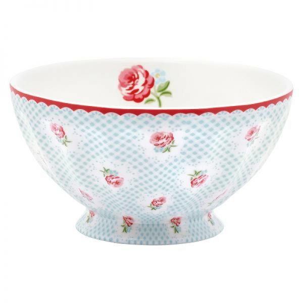 TAMMIE PALE BLUE FRENCH BOWL XL LARGE