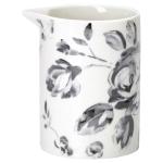 greengate amanda dark grey slim jug