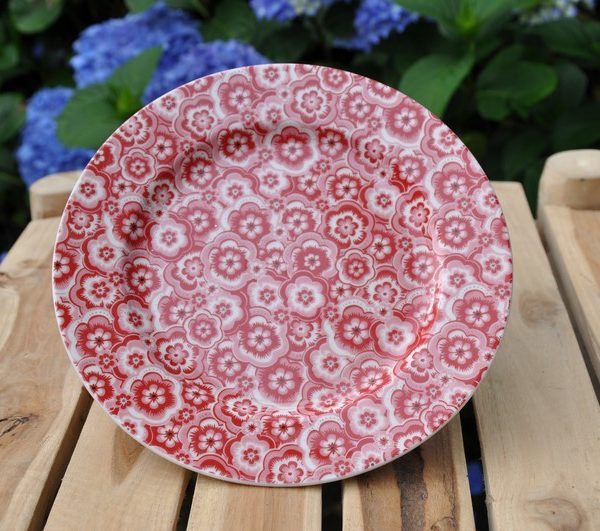 greengate selma red assiette