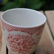 stephanie red latte cup