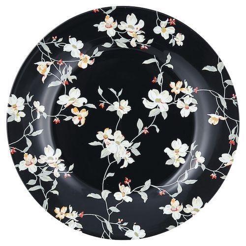 jolie black plate