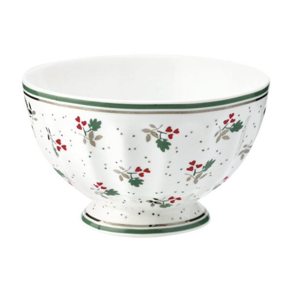 josely white french bowl medium