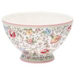 Greengate French bowl xlarge Luna white
