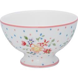 Greengate Snack bowl Belle white