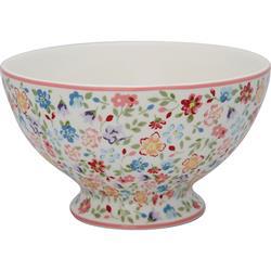 Greengate Soup bowl Clementine white