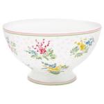 Greengate Soup bowl Mira white