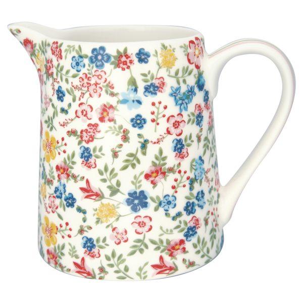 Greengate jug sofia white 0,5L(1181x1181)